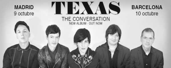 Texas es un grupo de rock alternativo y pop británico originario de Glasgow, Escocia. Fundado por Johnny McElhone en 1986, debutó en marzo de 1988 en la Universidad de Dundee.Al principio, Sharleen escribía sus propias canciones y Gerry hacía las veces de representante y se encargó de introducir al grupo entre las productoras discográficas.Mientras preparaban su primera maqueta, contactaron con Ally McErlaine para que se hiciera cargo de la guitarra...