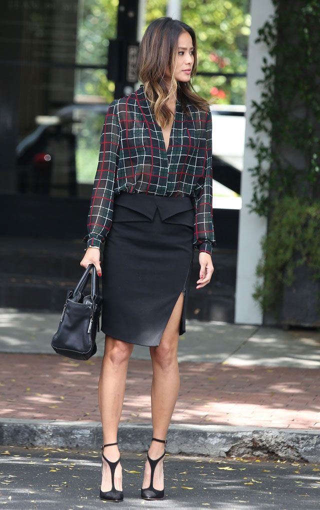 10 best black pencil skirt images on Pinterest