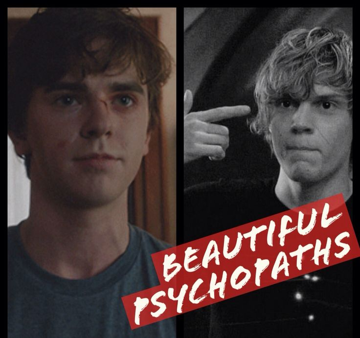 Tate Langdon | Norman Bates  American Horror Story | Bates Motel Beautiful Psychos