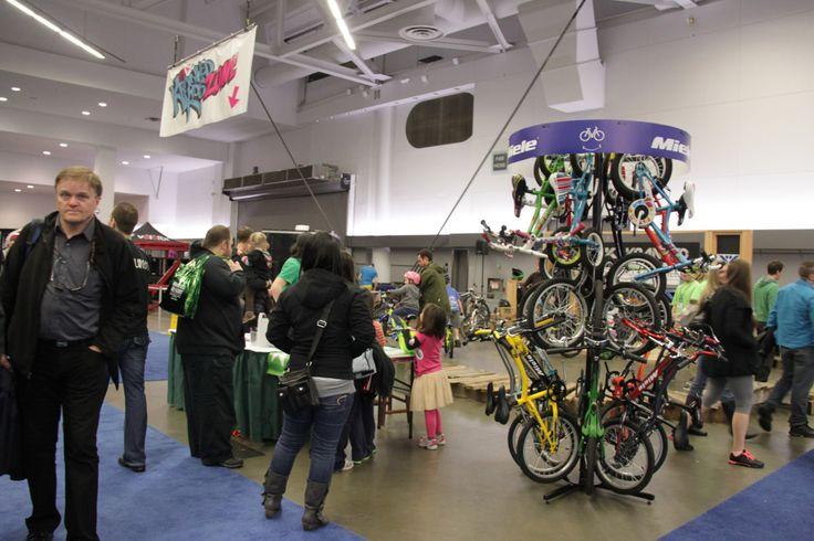 #mountainbikes for kids @Vancouver Bike Show