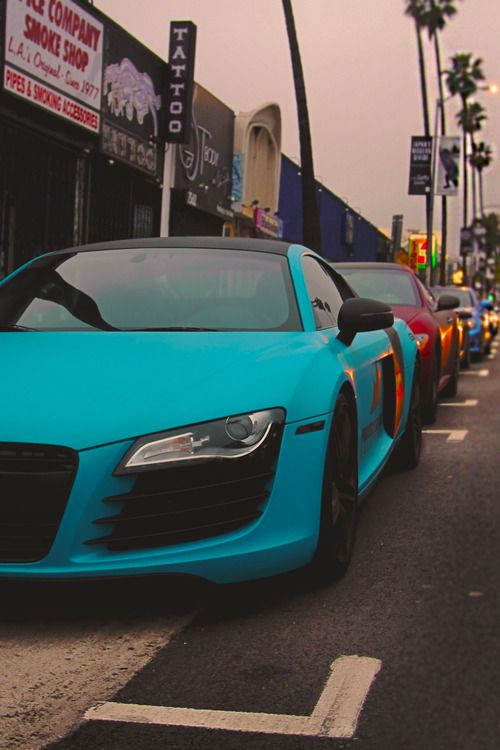 Audi R8.  Car of the Day: 9 March 2015.