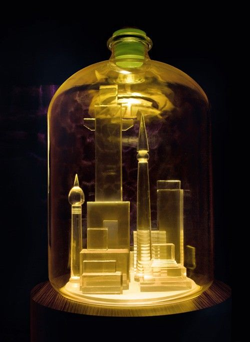 MIKE KELLEY: Artist Mike Kelley Recreates the Bottle City of Kandor Without Terrorizing the Galaxy
