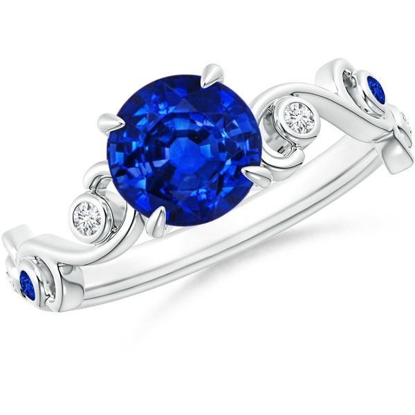 Ivy Scroll Bands: Best 25+ Bezel Diamond Rings Ideas On Pinterest
