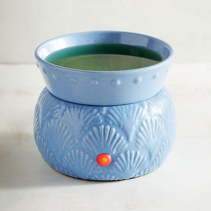 Blue Shell Electrical Oil Warmer