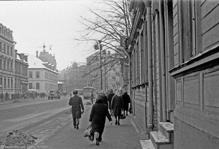1968. gads, Brīvības iela.