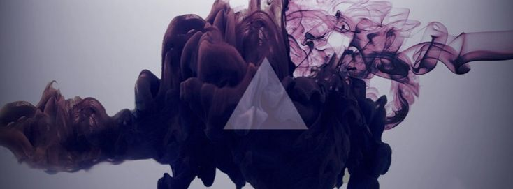 abstract hipster triangle smoke facebook cover