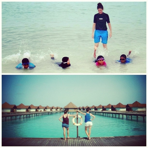 Teach swimming in the Maldives #volunteer #Antipodeans_Abroad