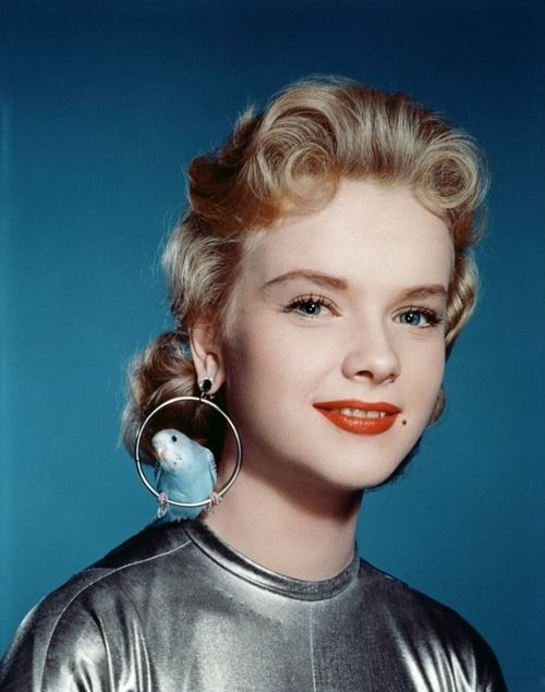 Anne Francis publicity photo for'Forbidden Planet', 1956.