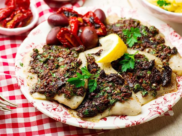 Mediterranean Spiced Fish Fillets