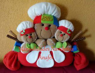 Manualidades navide as anafer dulces jengibres ginger - Manualidades navidenas paso a paso ...