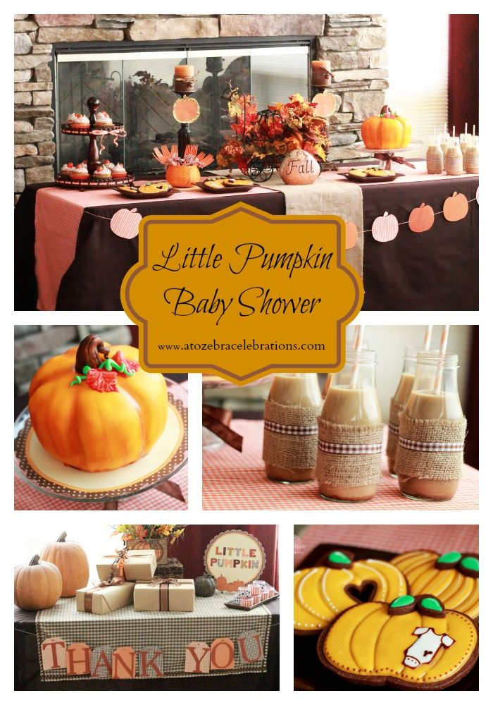 Elegant Little Pumpkin Baby Shower   Wow I Would Love This... Fall Is My