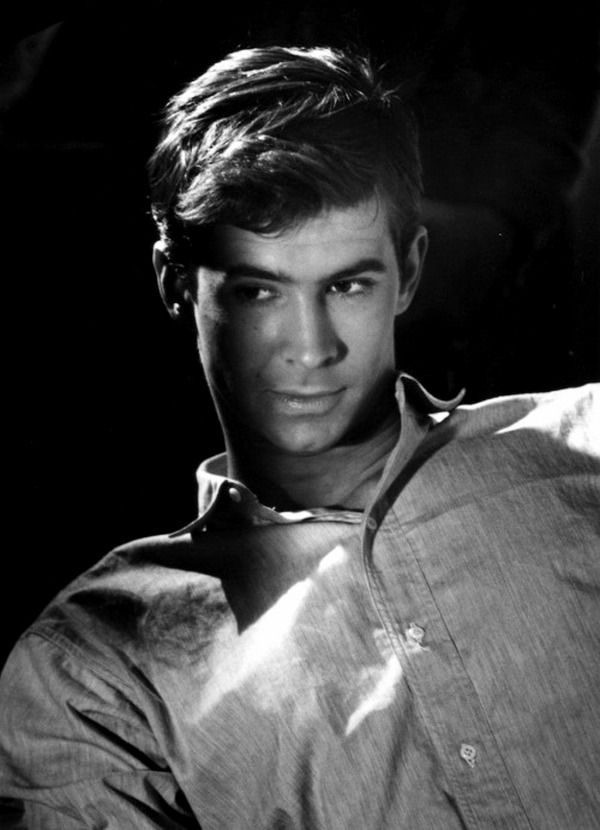 Anthony Perkins, 1956, a publicity photo for Gentle ... Tab Hunter Roddy Mcdowall