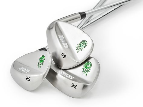 52 degree gap wedge, 56 degree sand wedge and 60 degree lob wedge. All 3 wedges are only $97.
