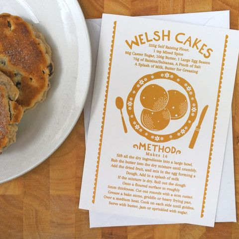 Welsh Cake Recipe With Christmas Twist