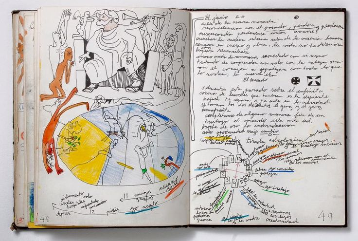 Samy Benmayor: ilustrated diary, 1982.