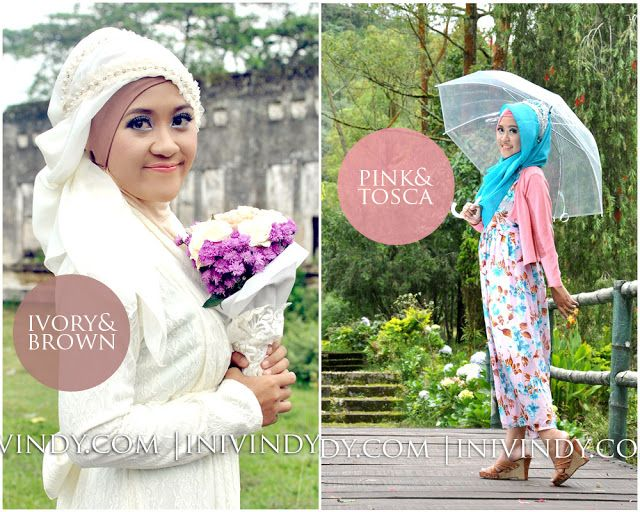 Ini Vindy Yang Ajaib: 4 Gaya Hijab dan Makeup untuk Prewedding Outdoor dan Indoor