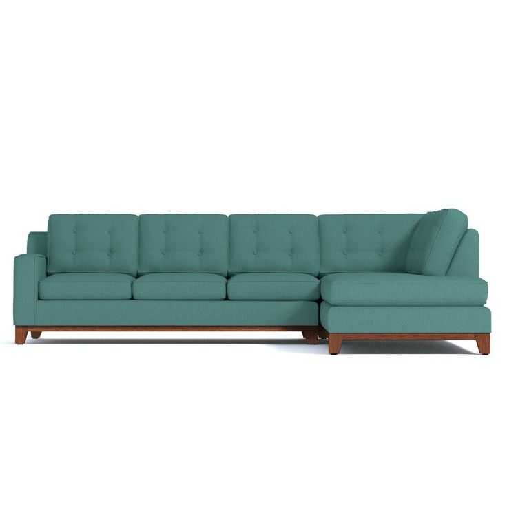 The Brentwood 2 Piece Sleeper Sectional Sofa blends classic design with luxurious comfort. It features a Queen Size sofa bed in pet friendly fabrics