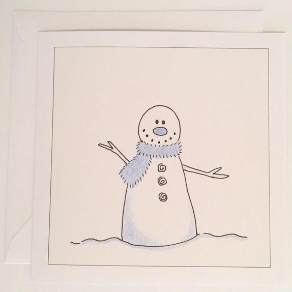 Kort: Snømann