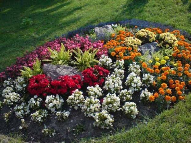 Simple Flower Garden 172 best island and berm gardens images on pinterest | landscaping