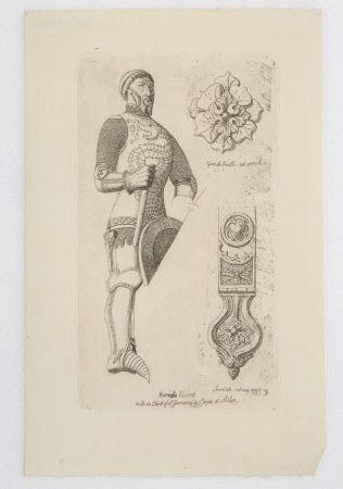 Effigy of Bernabò Visconti, Lord of Milan (1354 -1385), Church of Giovanni in Conca, Milan