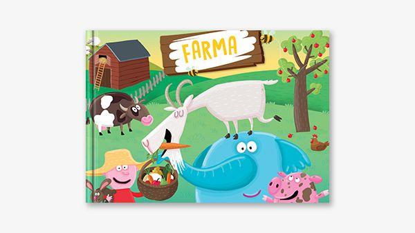V nové knize se děti seznámí se zvířátky domácími jako jsou slepice, husy, kozy a krávy, která mohou děti vidět na každé farmě u nás. Kniha obsahuje prvky encyklopedie, které jsou zamíchány v líbivém dětském příběhu plném fantazie.