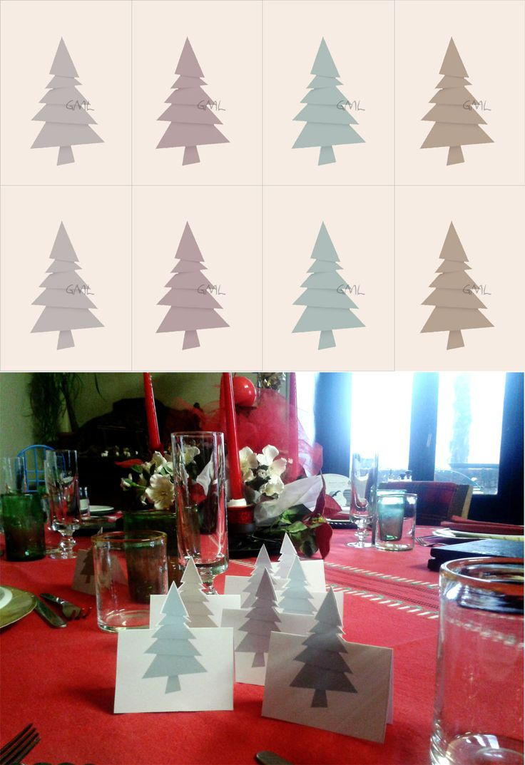 Segnaposti Natale - Christmas Place holders