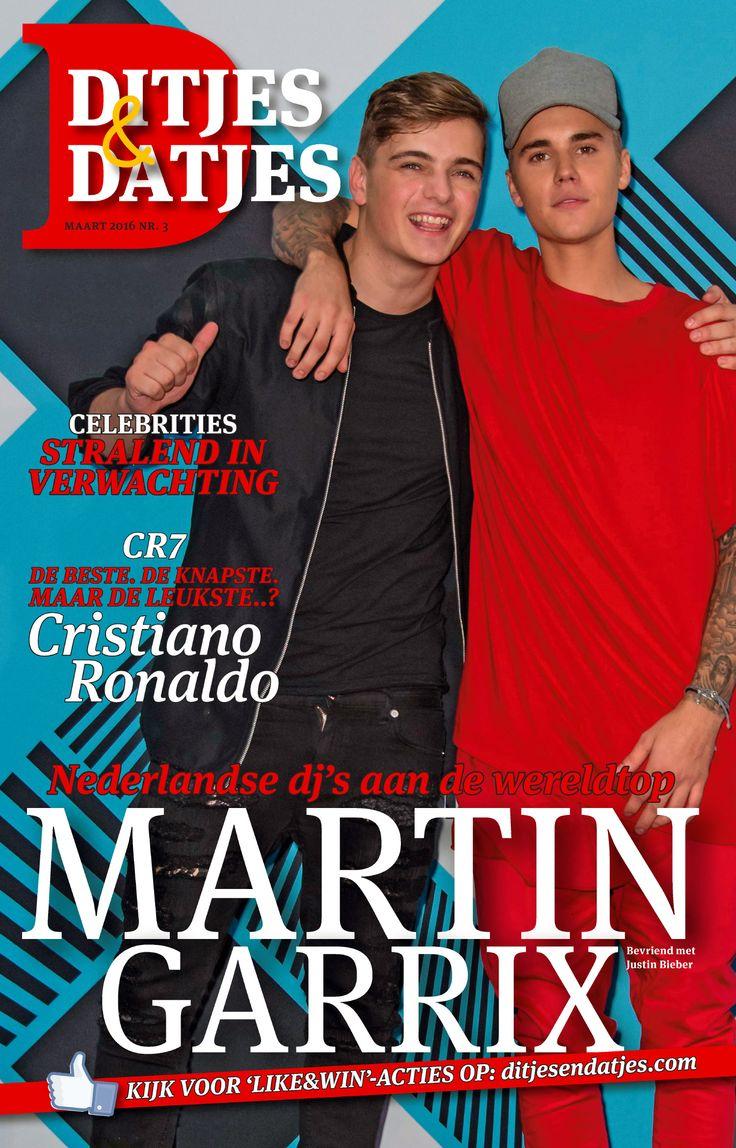 Cover Ditjes & Datjes 3, 2016 met Nederlandse dj Martin Garrix en Justin Bieber #DitjesDatjes #MartinGarrix #Garrix #JustinBieber #Bieber