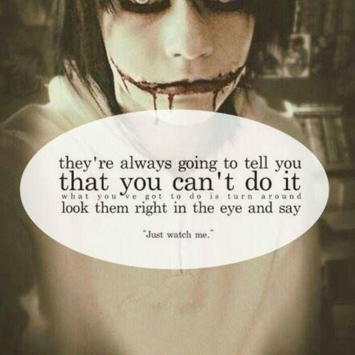 Very Great Quotes: Jeff The Killer