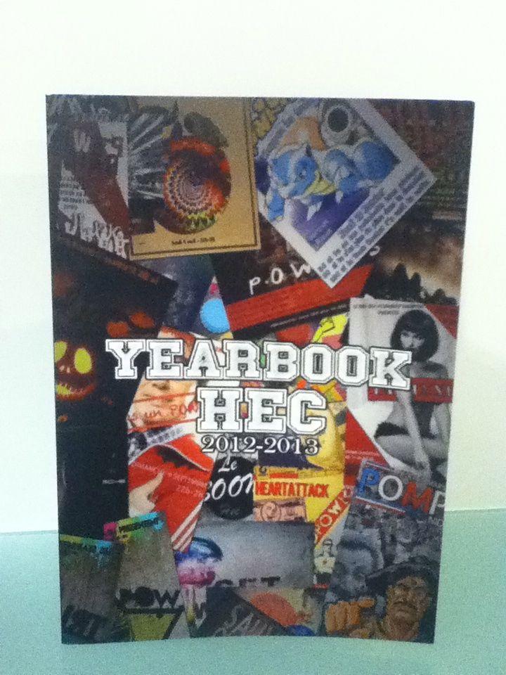 Yearbook HEC 2012-2013 @HEC Paris