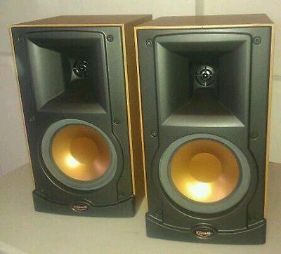 vintage klipsch bookshelf speakers. klipsch rb-15 bookshelf speakers vintage