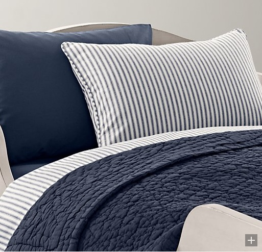 141 best For the Master images on Pinterest | Master bedrooms ... : navy quilt bedding - Adamdwight.com