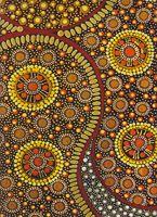 Aboriginal design Wrapping Paper Kerringke Arts - Deanna Williams 100cm x 70cm $4.00 each