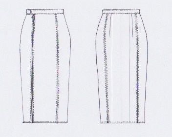 MERAKI Project Iceland // FW2015 // Mountain (skirt)