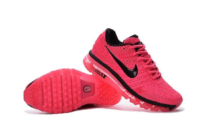 new product 18c00 0c1f5 Original Nike Air Max 2017 Peach Red Sports Shoes Discount - 74.99