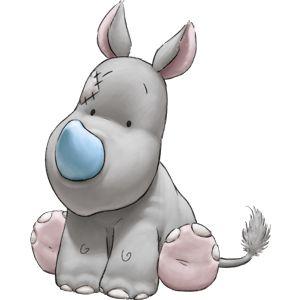 Peluche rhinocéros