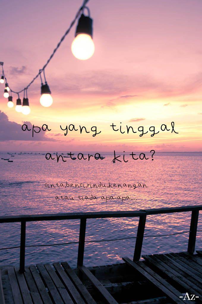 Malay quote, sad