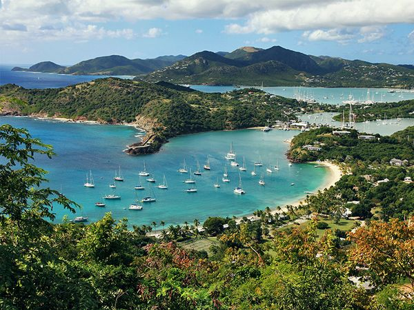 See something new in St. Johns, Antigua.