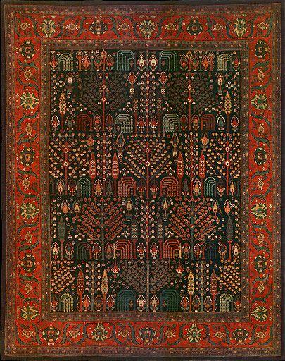 Persian Bidjar Oriental Rug #31115