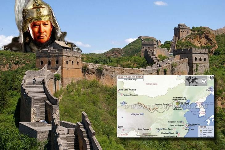 The Greatest Wall by the Greatest Wall Builder