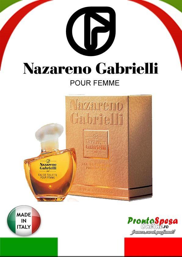 apa de toaleta Nazareno Gabrielli Pour Femme ml. 100 http://www.prontospesaonline.ro/
