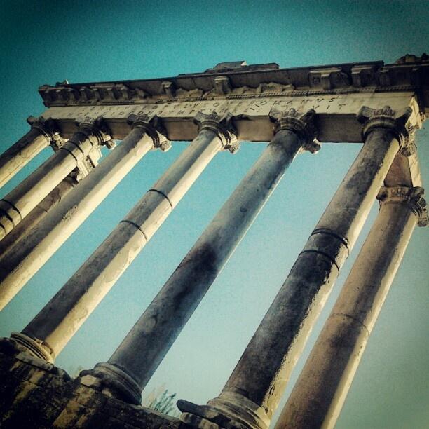 Foro Romanum, Rome.