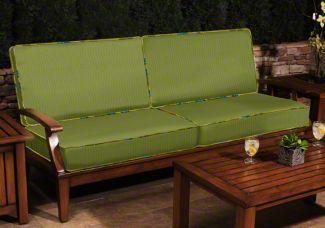 "Custom Replacement Sofa Cushions - 2 Backs & 2 Seats | Using fabric ""1057"""