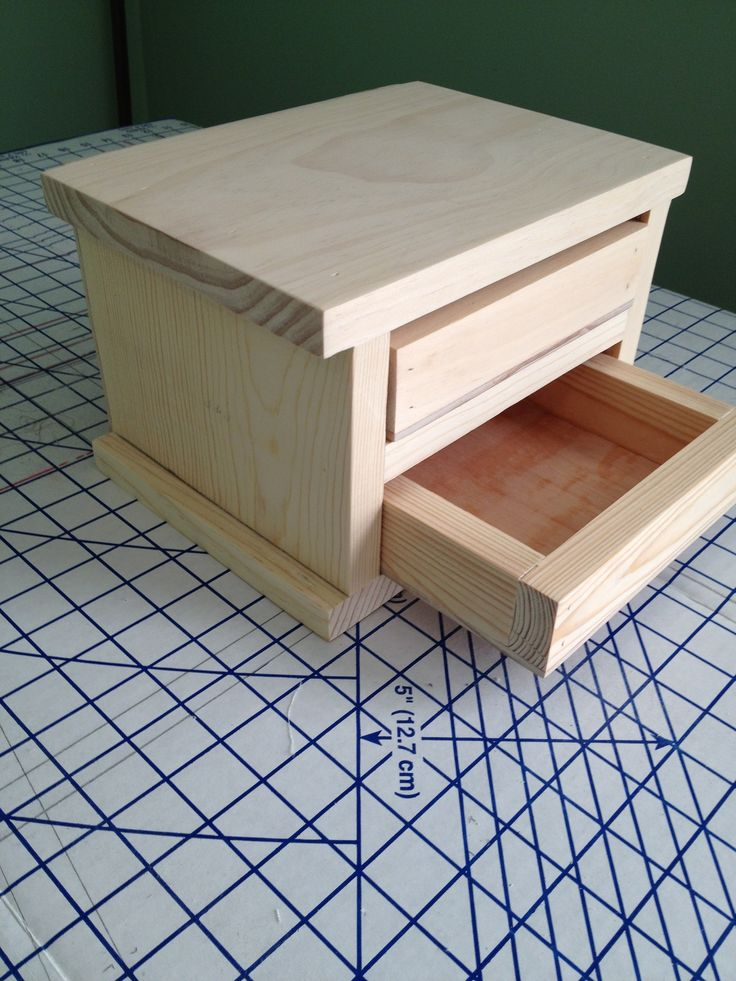 The 25 best Jewelry box plans ideas on Pinterest Wooden box
