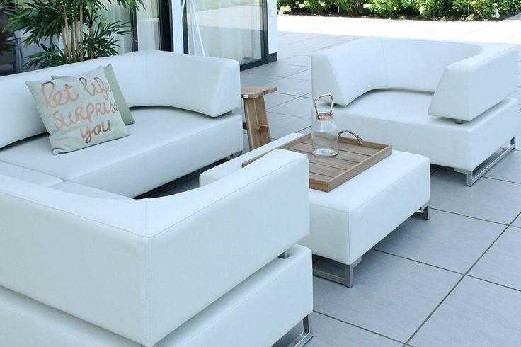 de mallorca loungeset met loungestoel brengt de luxe sfeer van uw binneninterieur naar buiten in. Black Bedroom Furniture Sets. Home Design Ideas