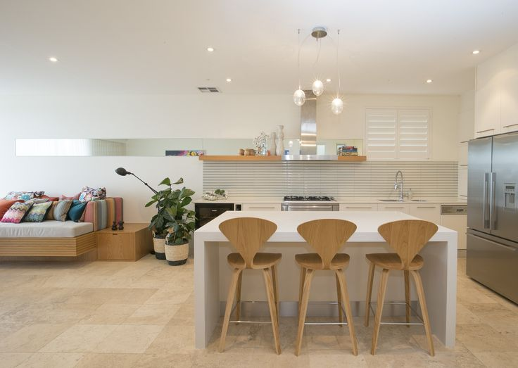 Bronte residence kitchen and Daybed. Brooke Aitken Design