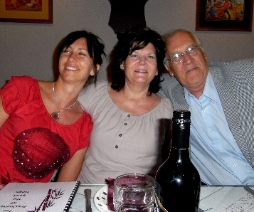 Cindy, Renate, and Peter