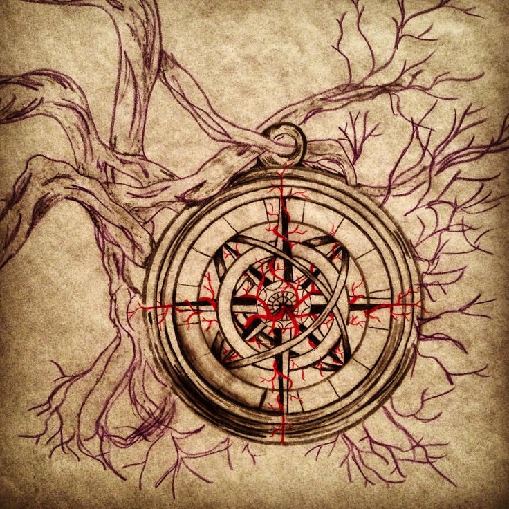 Compass Rose- Commissioned Customized Tattoo Design ...