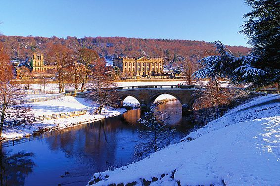 Chatsworth House | Derbyshire | Peak District | Snow | Winter | Things to do | Local attractions | Places to visit