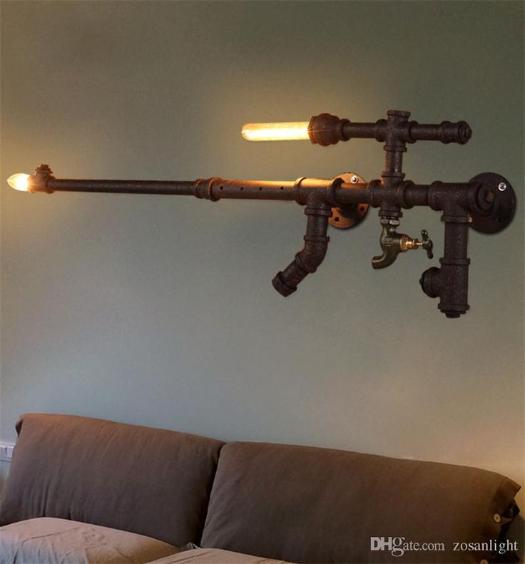 Best 25 pipe lamp ideas on pinterest pipe lighting for Gas pipe lamp