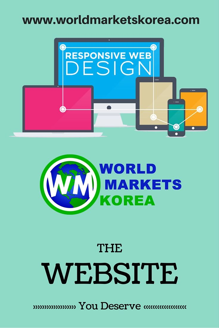 Get the #website you deserve. Show your company to the world on your new #responsive website. Contact us now